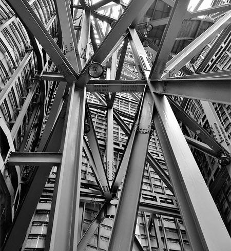 estructuras metalicas edificio