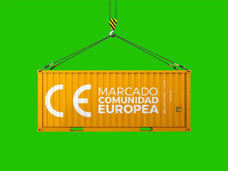 Contenedor productos CE