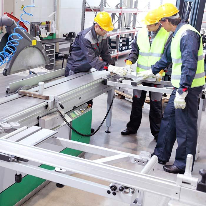 Control calidad linea de produccion