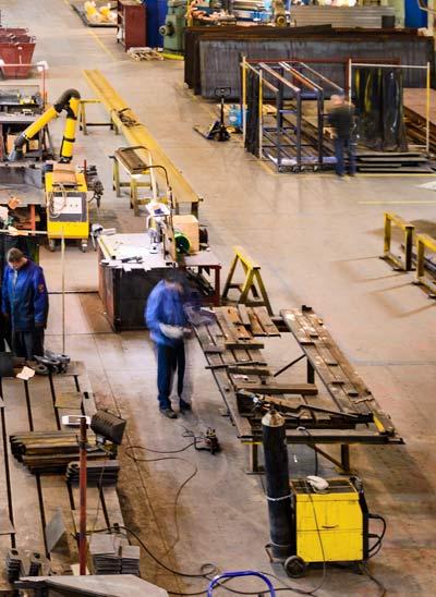 Produccion en fabrica