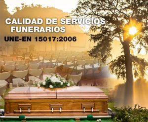 une-15017 funerarias