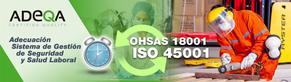 OHSAS 18001 e ISO 45001