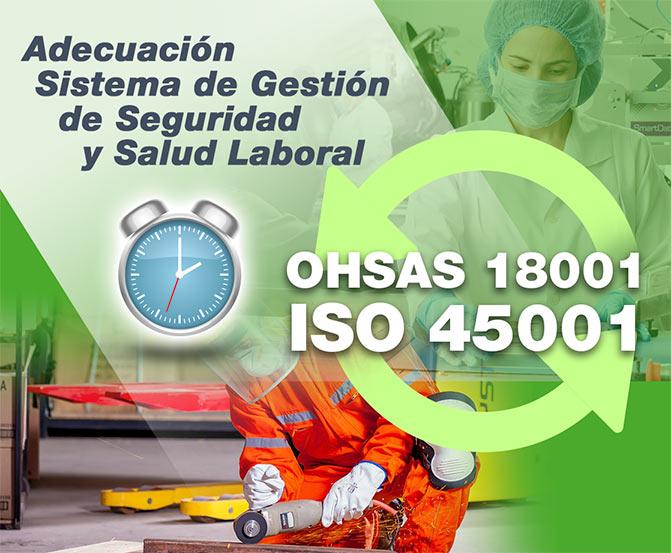 adecuacion ISO 45001